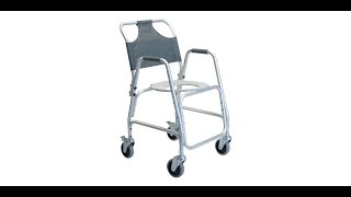 Lumex Shower Transport Chair Youtube Video Link