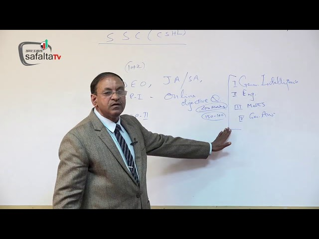 SSC CHSL Exam Tactics By Mukesh Sir