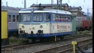 preview picture of video 'Euro Rails 6 - Düren en de Rurtalbahn van de DKB'