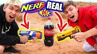 NERF EXPLODING SODA!!