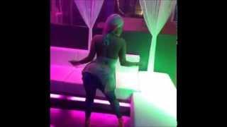 Jessica Kylie dancing up in the club