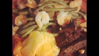 Cooking Green Beans With Shrimp scalloped Potatoes