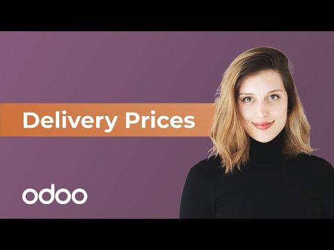 Lieferpreise | odoo Verkauf