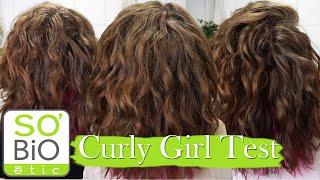 So'BiO Produkt Test für CURLY GIRL METHODE/ CURLY HAIR METHODE