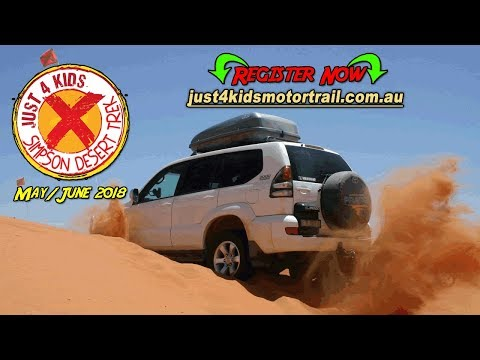 J4K Motor Trail Simpson Desert Trek Ad 001 - Simpson Desert High