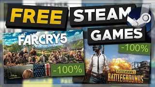 How To Get FREE Steam Games (No Surveys 2018)