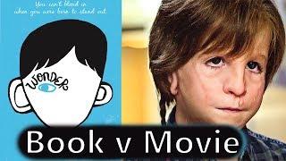 WONDER Book vs. Movie