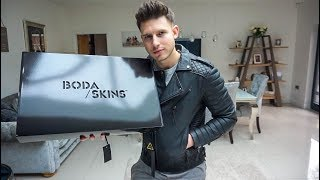 THE BEST MENS LEATHER JACKET?   BODA SKINS UNBOXING & REVIEW   Mens Fashion