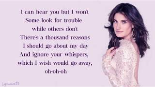 "Idina Menzel, AURORA - Into the Unknown // Lyrics (From ""Frozen 2"")"