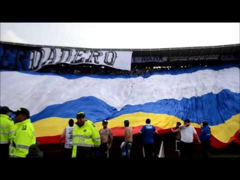 """Blue Rain . MILLONARIOS vs anal"" Barra: Blue Rain • Club: Millonarios"