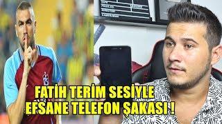 FATİH TERİM SESİYLE TRABZONSPORLU FENOMENİ TROLLEDİM !
