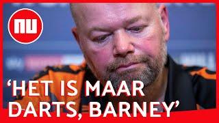 Ode aan Van Barneveld: 'Het universum heeft het op hem voorzien' | NU.nl