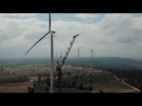 Overview of all Kroll windfarm projects