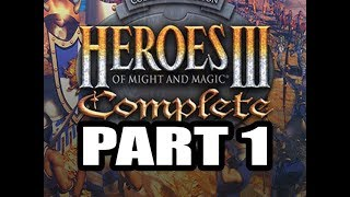 Heroes 3 Expert Playthrough 39 ( Birth of a Barbarian Campaign ), Part 1