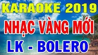 Karaoke Nhạc Vàng Bolero Trữ Tình Nhạc Sến | Liên Khúc Đường Tím Bằng Lăng | Trọng Hiếu