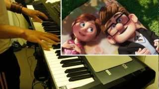 """Video thumbnail of """"Carl and Ellie- Pixar's """"Up"""" Theme (Piano cover)"""""""