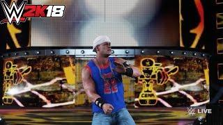 WWE 2K18 : John Cena (Thuganomics) GFX Mod
