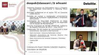 Presentación del Master en Ciberseguridad