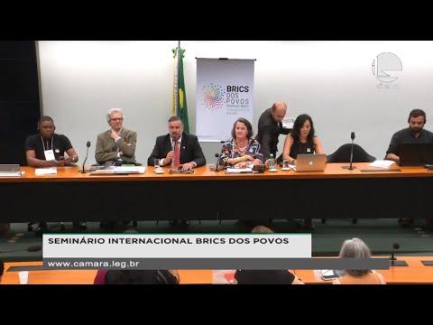 Outros eventos - Seminário Internacional Brics dos Povos - 11/11/19 - 09:49