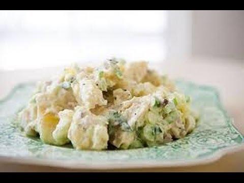 Вкусный американский  картофельный  салат видео рецепт # 4