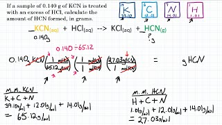Stoichiometry: Mass To Mass - Practice - 1