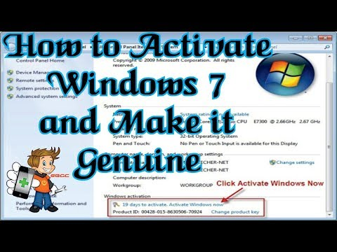 Video How to make Windows 7 Ultimate Genuine for Free Without any Activator or Loader 100% Working