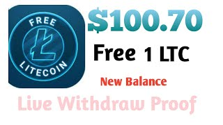 Earn $100.60 Litecoin Mining LTC Automatically (FREE) | Earn 1 LTC in 1 DAY