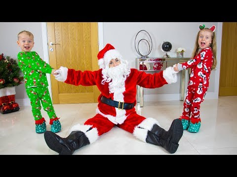 Gaby and Alex - My Santa - Christmas Kids Song (Official Video) видео