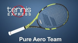 Ρακέτα τέννις Babolat Pure Aero Team video