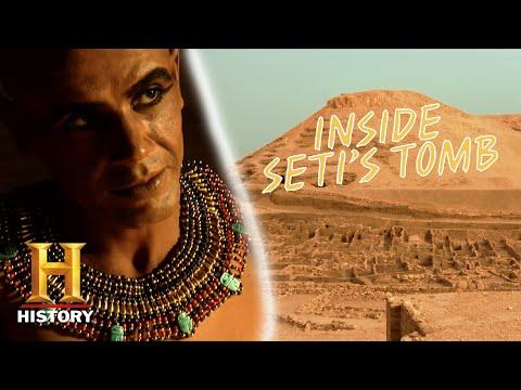 In de Vallei der Koningen lagen de graven van vele oude Egyptische farao's en machtige edelen.