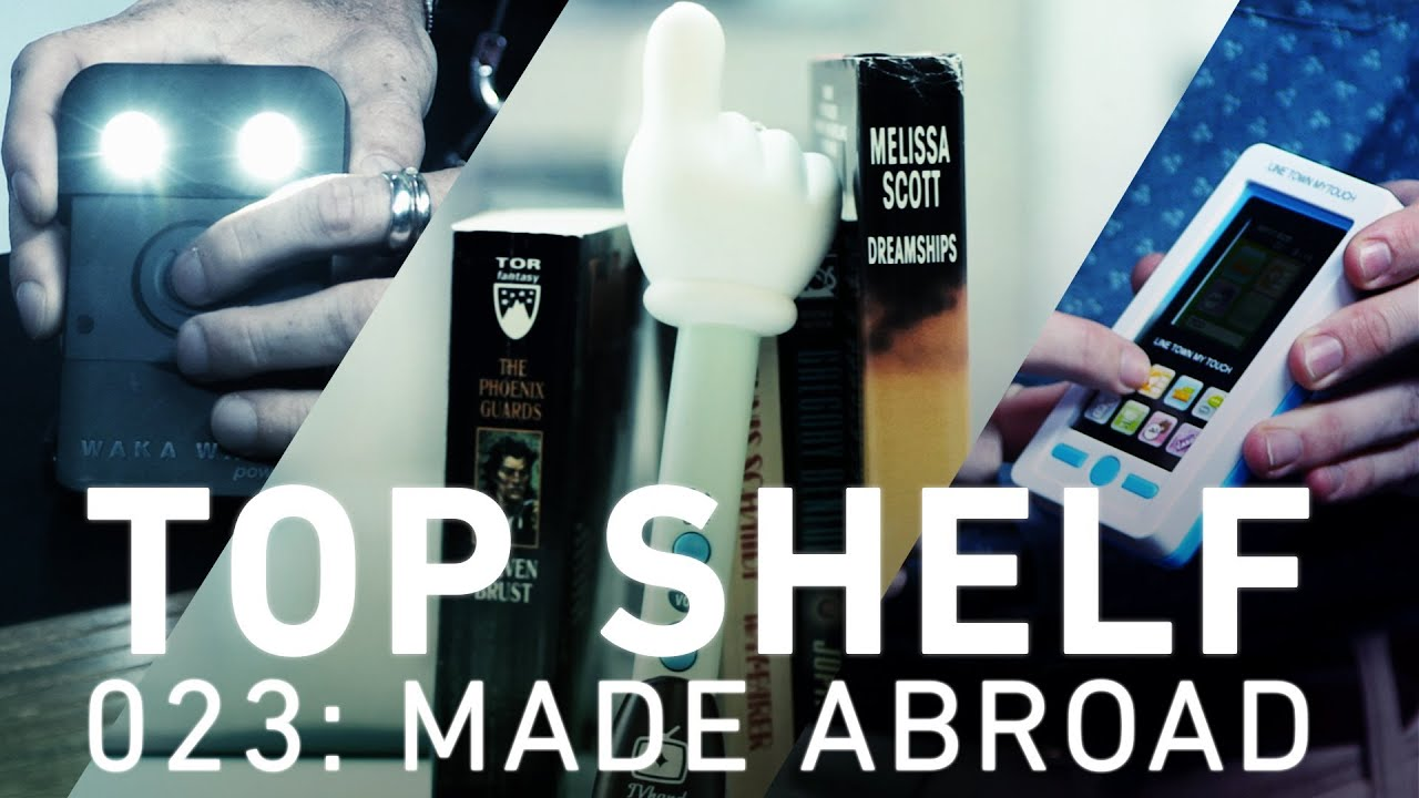 Top Shelf: unique gear from The Verge's international team thumbnail