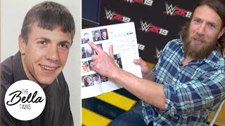 BEST BOWL CUT EVER! Daniel Bryan's finds his old high school yearbook pictures!
