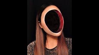 3D «Безумный макияж».|  СМЕШНЫЕ ВИДЕО.|ЛУЧШИЕ ПРИКОЛЫ 2018.| Интересные видео.