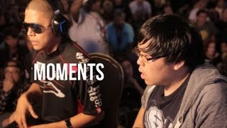 Moments - Justin Wong Qualifies for Marvel top 8 at EVO 2013
