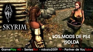 Skyrim Mods de belleza para PS4 parte 1 | Sorprendente variacion Ysolda | SeriesRol