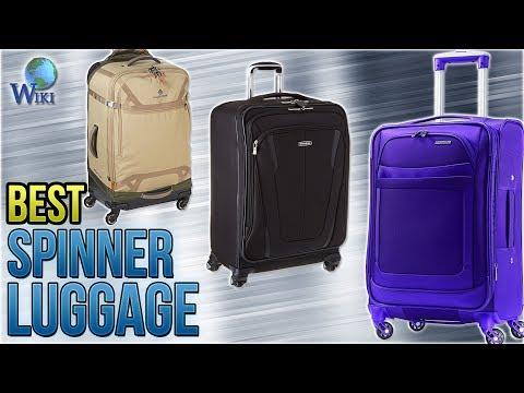 10 Best Spinner Luggage 2018