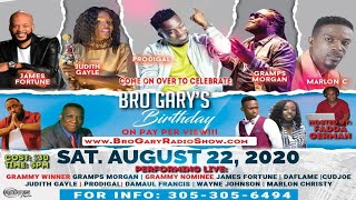 Thursday, JAMAICA INDEPENDENCE DAY --8/6/20~~~~~[Bro Gary Show 6AM - 10AM Daily]