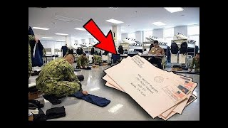 HOW MAIL WORKS IN NAVY BOOT CAMP - SENDING PICTURES 2021 | WAVYYTY