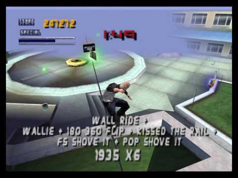 [TAS] N64 Tony Hawk's Pro Skater 2 by Fog in 05:01,43