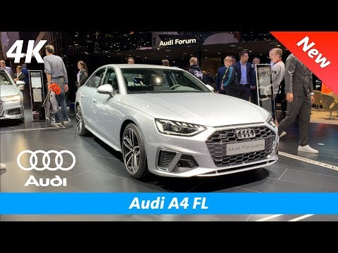 Audi A4 FL 2020 (S line) - FIRST quick look in 4K | Interior - Exterior