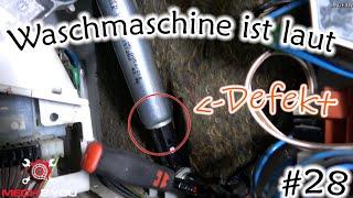 #28 Waschmaschine holpert | Miele ist laut beim schleudern | Stoßdämpfer defekt