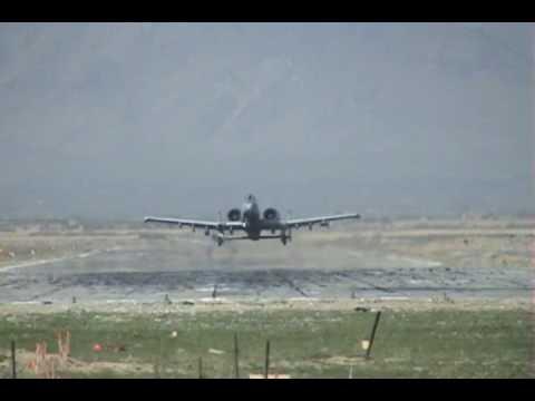 A-10 take off