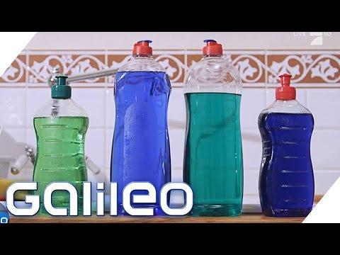 Das Geheimnis von Spülmittel   Galileo Lunch Break