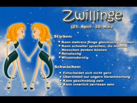 Sternzeichen Zwilling - Ihr Charakter wird hier treffsicher beschrieben - oder ?
