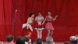 "Rachel Klein Theater in the ""Beat Girl Ballet"" at Low Life @ HOWL 2013"