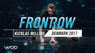 Niklas Milling   FrontRow   World of Dance Denmark Qualifier 2017   #WODDK17
