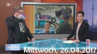 PietSmiet (Piet) beim ZDF Morgenmagazin - Beitrag über Games Week 2017 in Berlin - vom 26.04.2017