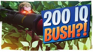 THE 200 IQ BUSH! IS HE ACTUALLY A GOD? (Fortnite BR Full Game)