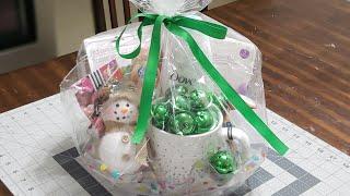 #giftbaskets #christmas #giftideas   DIY Christmas Gift Basket