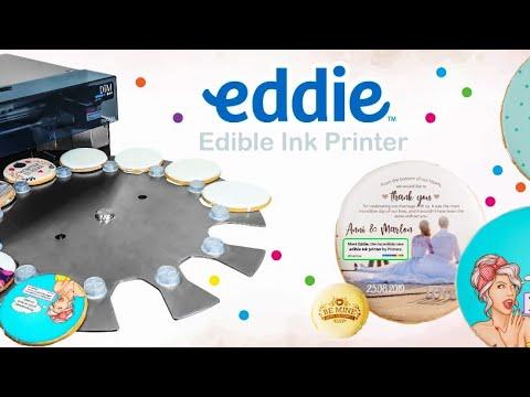 Primera Eddie Direct to Food Colour Edible Ink Printer video thumbnail